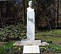 Dr. Adolf Schärf Büste im Kurpark des Thermenresorts in Villach-Warmbad, Kärnten.jpg
