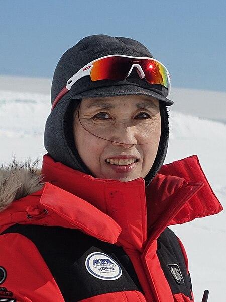 Dr. In-Young Ahn at the Korean Antarctic Station, King Sejong in October 2015.jpg