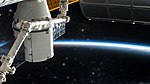 Dragon SpaceX CRS-13 docked at Space Station.jpg