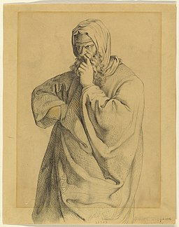 Drawing, Philosopher, 1902 (CH 18392243)