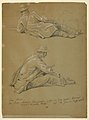 Drawing, Two Studies of the Artist, 1864 (CH 18346413).jpg