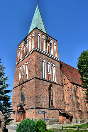 Drawsko Pomorskie - Resurrection Church
