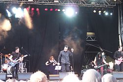 Dreadful Shadows live al Zita Rock Festival di Berlino (2008).