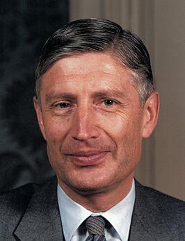 Dries van Agt als premier in 1980