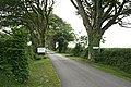 Driveway to a Caravan Site - geograph.org.uk - 193579.jpg