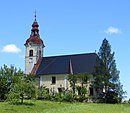 Drtija Slovenia - church.JPG