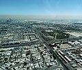 Dubai - Kreuzung Sheikh Khalifa Bin Zayed Road und Al Dhiyafah Street - ا معبر الشيخ خليفة بن زايد و آل شارع الضيافة - panoramio.jpg