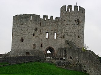 Baron Dudley - The remains of Dudley Castle.
