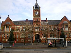 Dukinfield - Image: Dukinfield Town Hall front