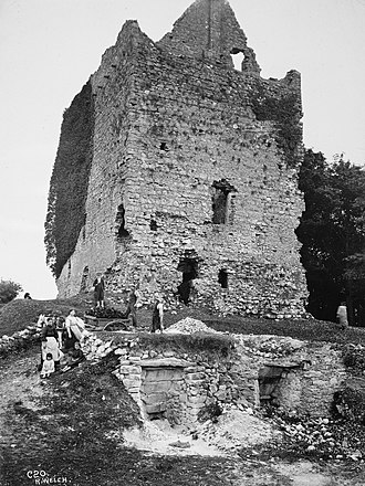 Dunmore, County Galway - Dunmore Castle in the early 1900s