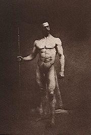 Affirmation de la magnificence du corps masculin - 1855.