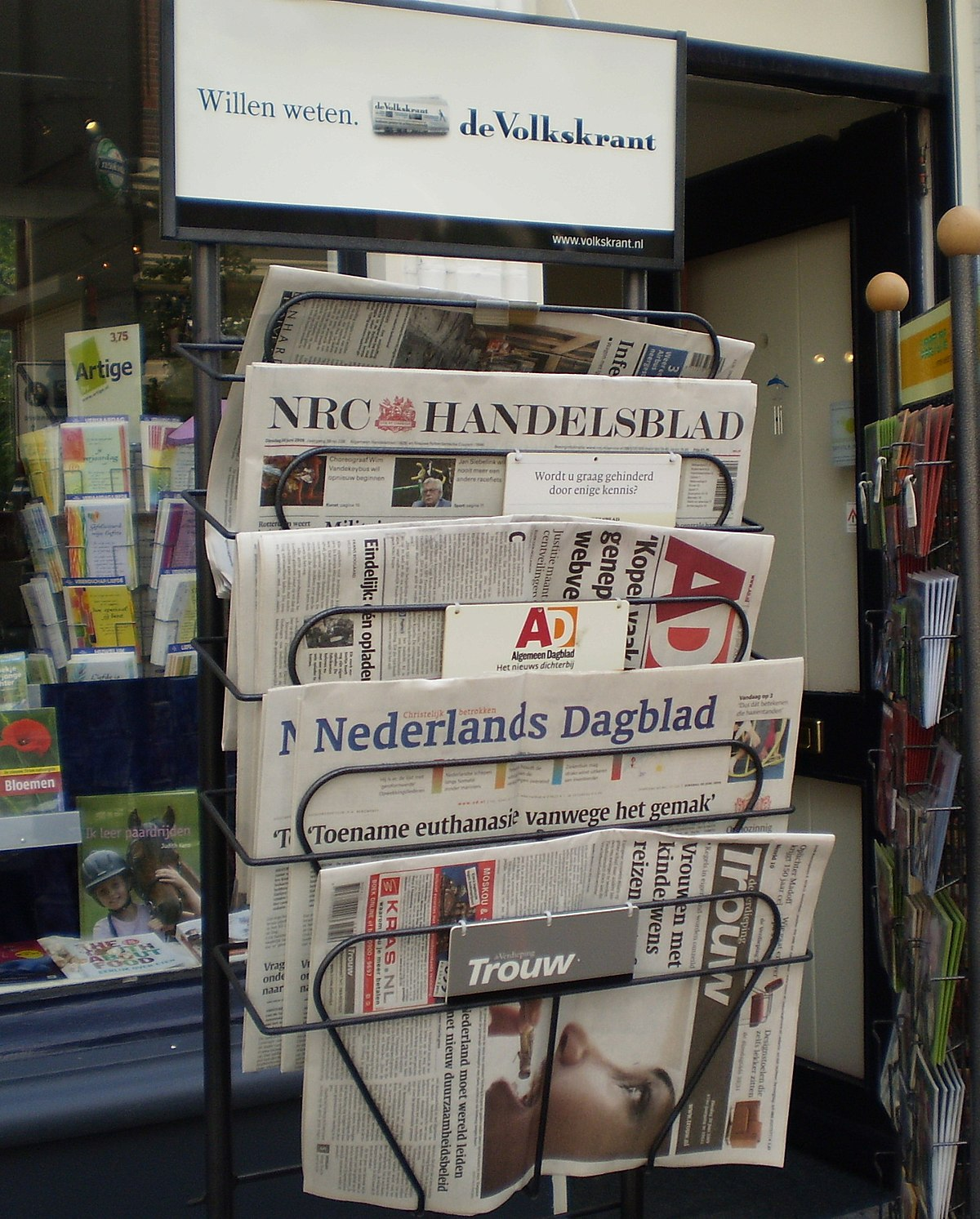 list of newspapers in the netherlands