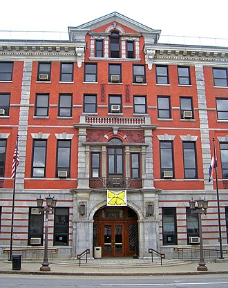Dutchess County, New York - The current Dutchess County Court House, built in 1903, stands on the same site as the original 1720 building