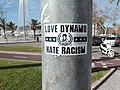 Dynamo Dresden's sticker in Palma.jpg