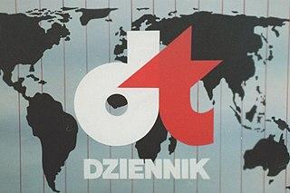 <i>Dziennik Telewizyjny</i> Polish television show