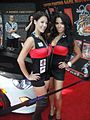 E3 Expo 2012 - Capcom Scion booth girls (7640587650).jpg