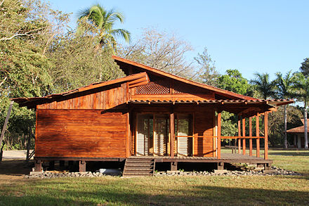 Classroom of Earth University in Costa Rica - a carbon neutral university
