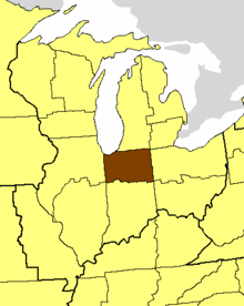 Location of the Diocese of Northern Indiana