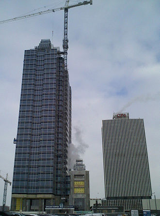 Epcor Tower - Image: EPCOR and CN towers