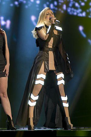 Poli Genova - Genova performing during the Eurovision Song Contest 2016.
