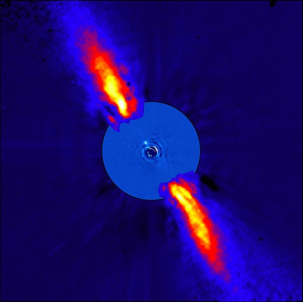 File:ESO - Beta Pictoris planet finally imaged (by).jpg