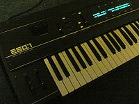 A fully operational Ensoniq ESQ-1