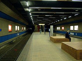 Churchill station (Edmonton) - Image: ETS LRT Churchhill