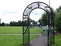 Eagle Rec, entrance arch near the canal - geograph.org.uk - 1416129.jpg