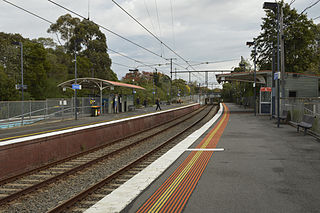 East Camberwell railway station railway station in Camberwell, Melbourne, Victoria, Australia