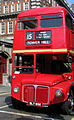 East London Routemaster bus RM652 (WLT 652) heritage route 15, 15 March 2006.jpg