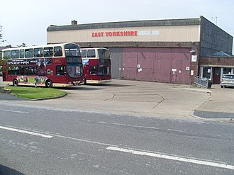 East Yorkshire Motor Services - Hornsea depot in June 2012