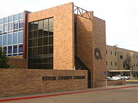 Ector County Library in Odessa, TX Picture 1830