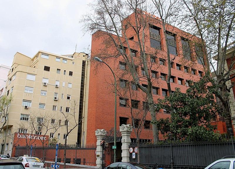 File edificio bankinter madrid wikimedia commons for Oficinas adolfo dominguez madrid