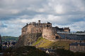Edinburgh Castle from the Scottish National Museum roof, 26 Sept. 2011 - Flickr - PhillipC.jpg