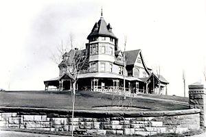 Edith Dimock - Image: Edith Dimock's childhood home, Vanderbilt Hill. Built in 1879, razed in 1920