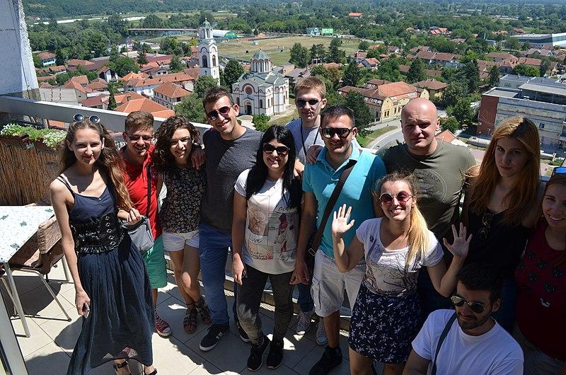 File:Edu Wiki camp participants Trstenik Serbia 2017.jpg