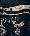 Edvard Munch. Angst (1896) — Woodcut (25075069075).jpg
