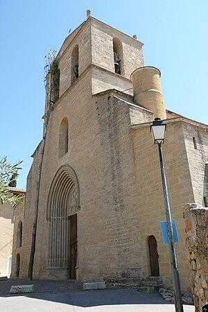 Cucuron - Notre-Dame-de-Beaulieu - the village church
