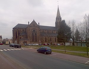 Forbach - Image: Eglise St Rémi Forbach