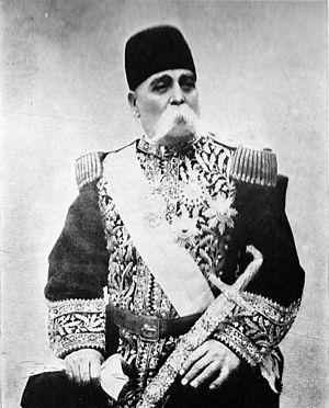 Sardar - Sardar-I-Azam, HRH Prince Abdol Majid Mirza of Qajar Persia c. 1920s.
