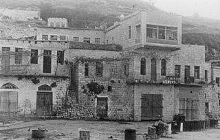 Ein al-Zeitun Village in Safad, Mandatory Palestine
