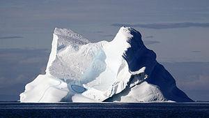 Deutsch: Eisberg in der Diskobucht, Westgrönland
