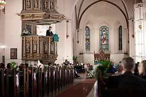 Riga Cathedral - Image: Ekumeniskais dievkalpojums (6064196959)