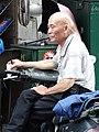Elderly Man in Street - Zhongzheng District - Taipei - Taiwan (40895994953).jpg