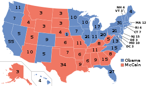 United States Presidential Election 2008.