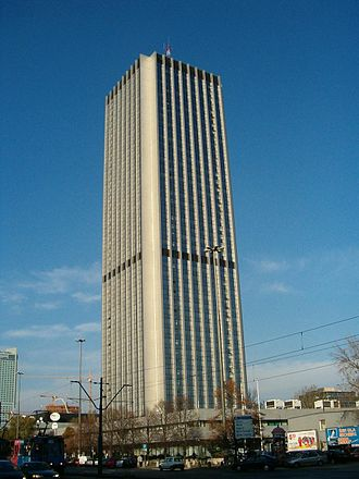 Oxford Tower, Warsaw - Image: Elektrim Intraco Oxford Tower
