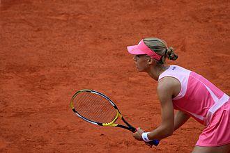 Elena Dementieva - Elena Dementieva at 2008 Qatar Telecom German Open