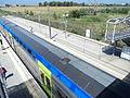 Elettrotreno TAF - Stazione di Fiera di Roma 02.JPG