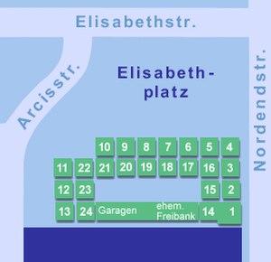 Elisabethmarkt - Map of Elisabethmarkt