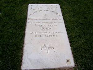 Eliza R. Snow - Grave